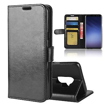Case For Samsung Galaxy S9 Black Wallet