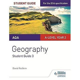 AQA Alevel Geography Student Guide 3 Hazards Population a by David Redfern