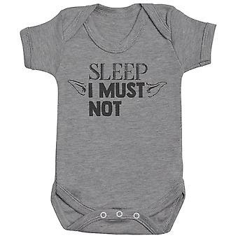 Sleep I Must Not - Baby Bodysuit