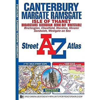 Canterbury Margate Ramsgate Whitstable Street Atlas