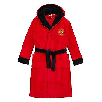 Kids man United dressing Gown/Childrens Manchester United Robe