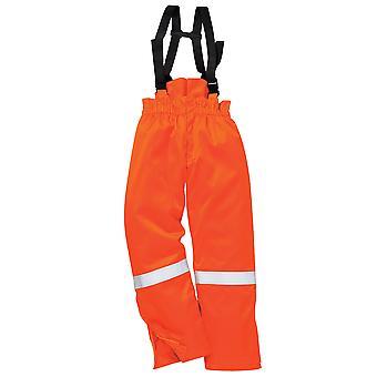 Portwest - Araflame Hi-Vis Workwear Insulated Winter Salopettes