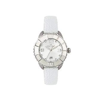 Oskar Emil Clock Woman ref. Celine Silver/White