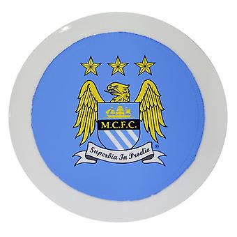 Manchester City FC Official Round Football Crest Car Tax Disc Holder