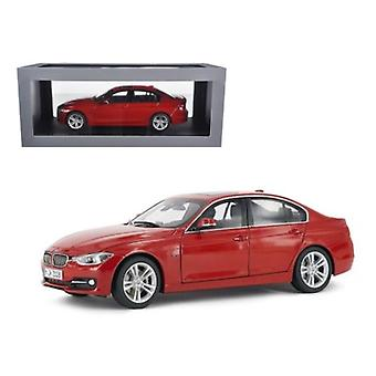 BMW F30 3 Series Melbourne Red 1/18 Diecast Car Model par Paragon