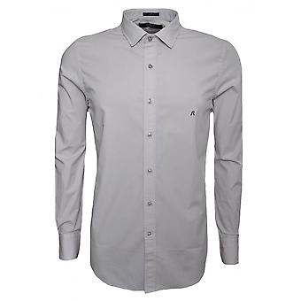 Replay Men's Stone Slim Fit Long Sleeved Shirt