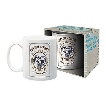 Cheech & chong ceramic mug