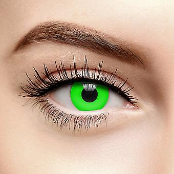 Green UV i-Glow Colored Contact Lenses (30 Day)