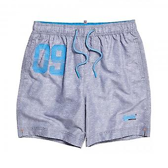 Superdry Waterpolo Swim Short Silver Grey VGK