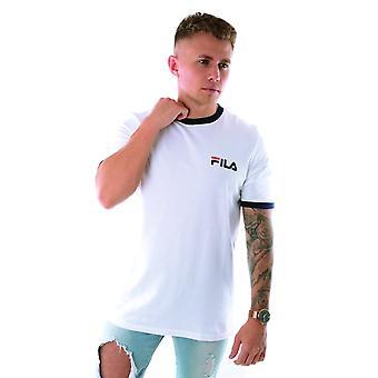 Fila Vintage Rosco Lm932965 Petit Logo Ringer T-shirt