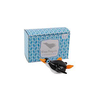 CGB cadeaux artisanaux coulissante verre Penguin