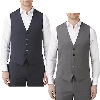 Skopes Mens Farnham Big Tall Single Breasted Button Front Suit Waistcoat