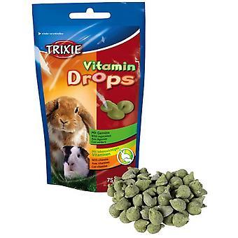 Trixie Drops Vitaminados, roedores, Verdura (Small pets , Treats)
