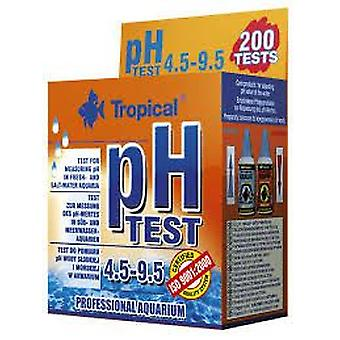 Tropical Test Ph 4.5-9.5 (Fish , Maintenance , pH & Other Substance Test Strips)