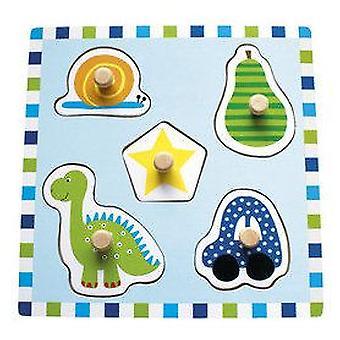 Jabadabado Nob Car Puzzle (Babies and Children , Toys , Preschool , Puzzles And Blocs)