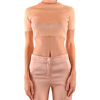 Elisabetta Franchi Ezbc050204 Women's Pink Acrlic Top
