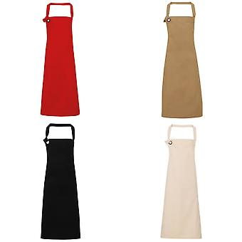 Premier Unisex Calibre Heavy Cotton Canvas Bib Apron
