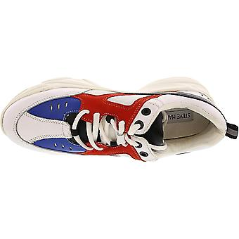 ستيف مادن النساء & s بالر الكاحل عالية أحذية رياضية أزياء الجلود