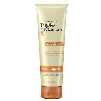 Neutrogena humidité triple crème mousse shampooing, 8,45 oz