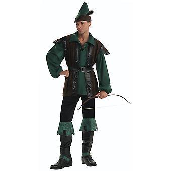 רובין הוד גנבי הגיבור גברים ימי הביניים תלבושות STD