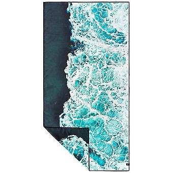 Slowtide Whitewash Travel Beach Towel in Blue
