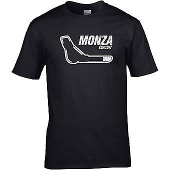 Monza italiensk GP Racing Circuit - Bilmotor - DTG trykt T-skjorte