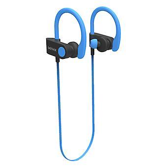 Sport Bluetooth Headset Denver Electronics BTE-110 50 mAh/Blue