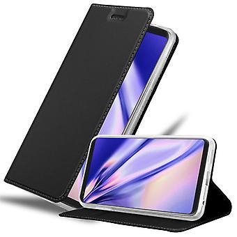 Cadorabo Hülle für LG V30 hülle case cover - Handyhülle mit Magnetverschluss, Standfunktion und Kartenfach – Case Cover Schutzhülle Etui Tasche Book Klapp Style