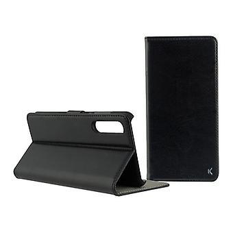 Folio mobiele telefoon hoesje Xiaomi Mi Note 10/mi Note 10 Pro KSIX Permanent Zwart