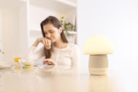 EMOI Pilz Lampe Bluetooth-Lautsprecher