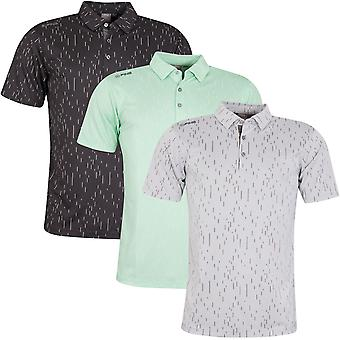 Ping Collection Mens 2020 Linear Jacquard Wicking Quick Dry Golf Polo Shirt