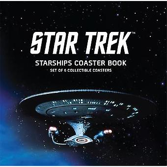Star Trek Starships Coaster Book - Set of 6 Collectible Coasters by Ch