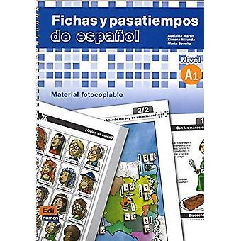 Fichas y Pasatiempos De Espanol - 9788498480450 Book