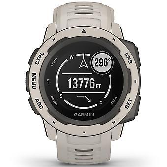 Garmin 010-02064-01 Instinct Smartwatch Gps Silicone Tundra Cream & Black Watch