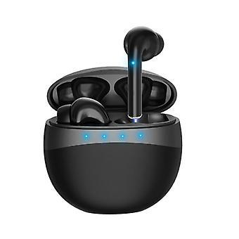 EarPods - langattomat kuulokkeet latauskotelolla - musta