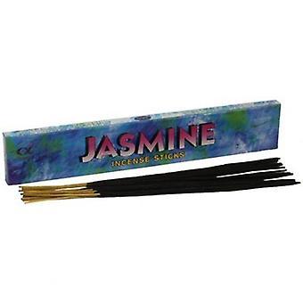 Jasmin røgelsespinde Deluxe 20 g boks