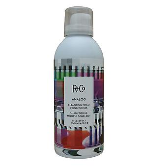 R&CO Analog Cleansing Foam Conditioner 6 OZ.
