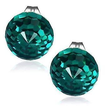 Boucles d'oreilles en cristal à facettes de boule disco - huit couleurs !