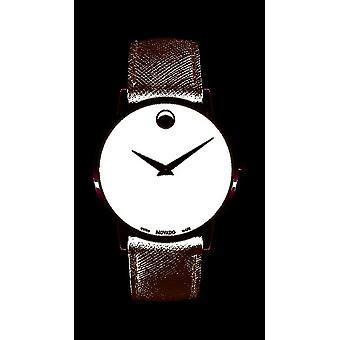 Movado - Wristwatch - Men - 0607194 - MUSEUM CLASSIC - Quartz Watch