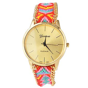 Offbeat hand woven watch in 13 colorful patterns