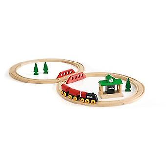BRIO Classic Figure 8 Set 33028 22 Piece Wooden Train Set - Great Value