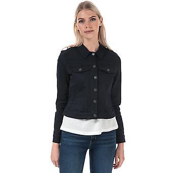 Women's Vero Moda Hot Soya Denim Jacket in Blue