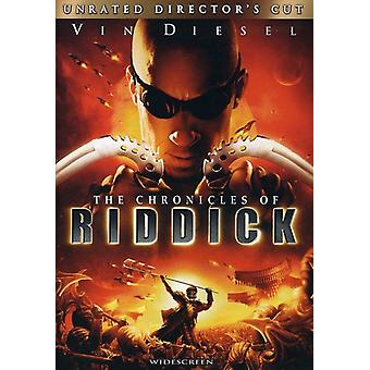 Chronicles of Riddick [DVD] USA importere