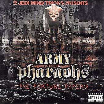 Jedi Mind Tricks Presents Army of the Pharaohs - Torture Papers [CD] USA import