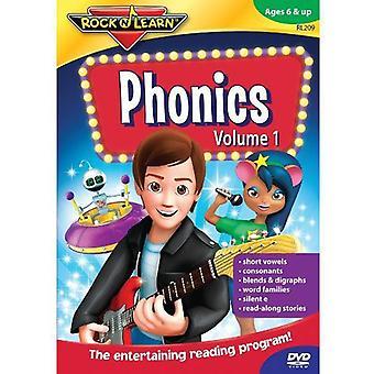 Rock'N Learn - Phonics 1 [DVD] USA import