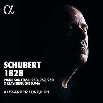 Schubert / Lonquich - Schubert 1828 [CD] USA import