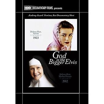 God Is the Bigger Elvis [DVD] USA import