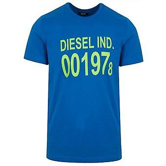 ديزل الأزرق تي دييغو شعار تي شيرت