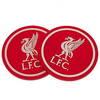 Liverpool FC Coaster conjunto (Pack de 2)