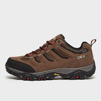North Ridge Men's Verge Waterproof Walking Shoe Brown